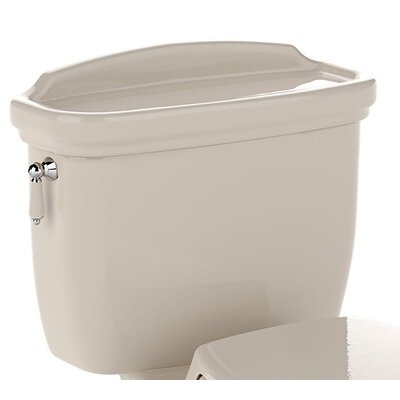 Dartmouth ADA Compliant 1.6 GPF Toilet Tank and Cover Only Toilet Finish: Bone