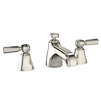 Guinevere Double Handle Widespread Bathroom Faucet Faucet Finish: Polished Nickel