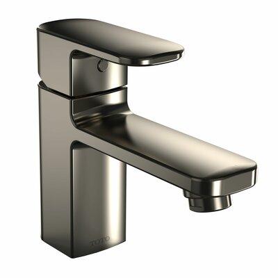 Upton Single Handle Single Hole Bathroom Faucet Finish: Brushed Nickel