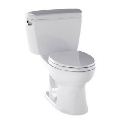 Drake 1.6 GPF Elongated Two-Piece Toilet Finish: Colonial White