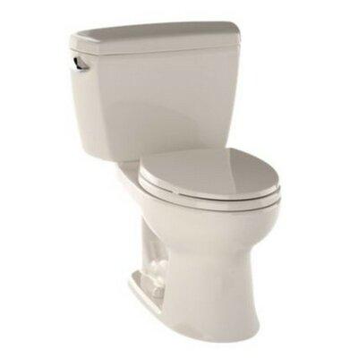 Drake 1.6 GPF Elongated Two-Piece Toilet Finish: Bone