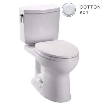 Drake 1.0 GPF Elongated Toilet Bowl Finish: Cotton White