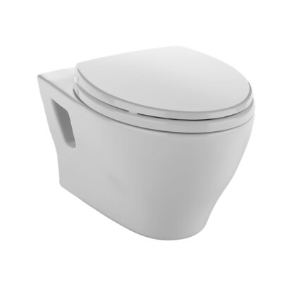 Aquia Dual Flush Elongated Toilet Bowl