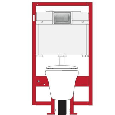 Maris Dual Flush Elongated Two Piece Toilet