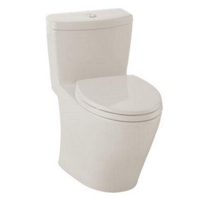 Aquia Dual Flush Elongated One-Piece Toilet Finish: Sedona Beige