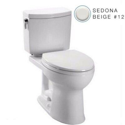 Drake 1.0 GPF Elongated Toilet Bowl Finish: Sedona Beige
