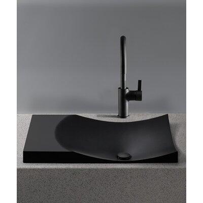 Waza Noir Self-Rimming Bathroom Sink