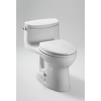 Supreme II High Efficiency 1.28 GPF Elongated One-Piece Toilet Toilet Finish: Cotton