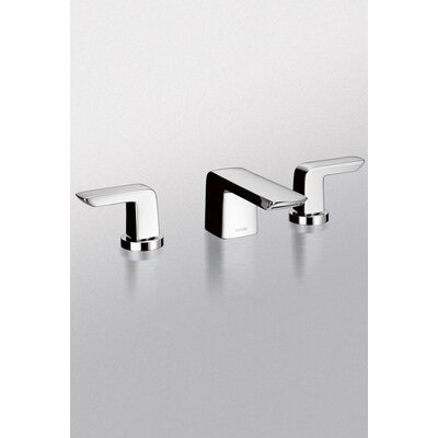 Soiree Double Handle Widespread Bathroom Faucet Faucet Finish: Polished Chrome