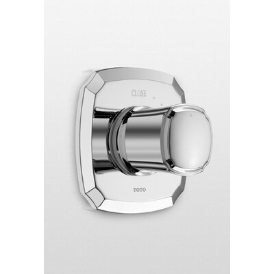 Guinevere Volume Control Valve (Trim Only) Trim Finish: Brushed Nickel