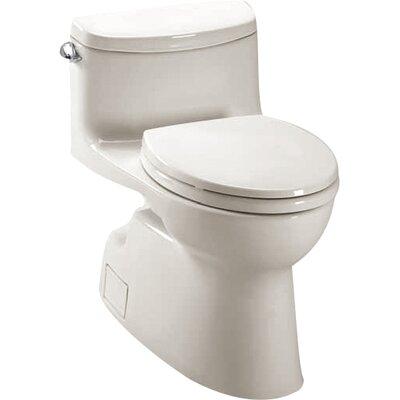 Carolina II High Efficiency 1.28 GPF Elongated One-Piece Toilet Toilet Finish: Colonial White