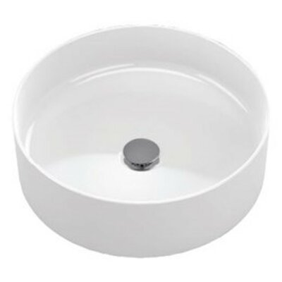 Arvina Vitreous China Circular Vessel Bathroom Sink