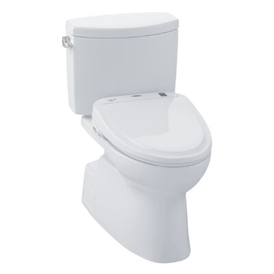 Vespin II 1.28 GPF Elongated Two-Piece Toilet