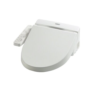 Washlet for Elongated Toilet Toilet Finish: White
