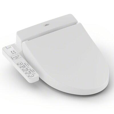 Washlet for Elongated Toilet Toilet Finish: White
