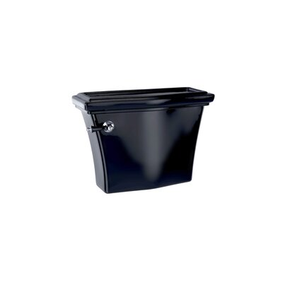 Clayton 1.6 GPF Toilet Tank Toilet Finish: Ebony