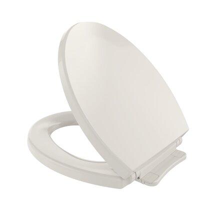 SoftClose Round Toilet Seat Seat Finish: Sedona Beige