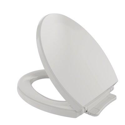 SoftClose Round Toilet Seat Seat Finish: Colonial White
