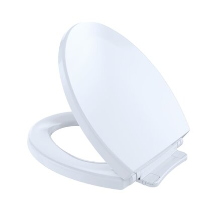 SoftClose Round Toilet Seat Seat Finish: Cotton