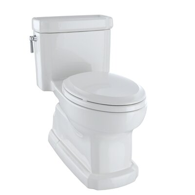 Guinevere 1.28 GPF Elongated One-Piece Toilet Toilet Finish: Colonial White
