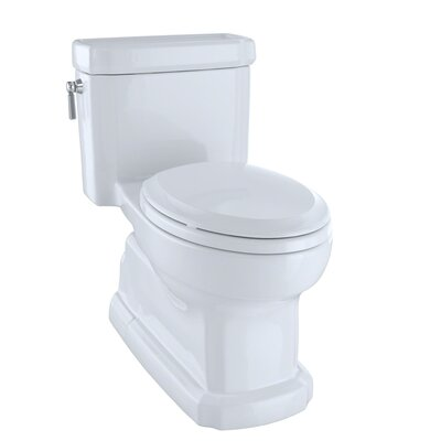 Guinevere 1.28 GPF Elongated One-Piece Toilet Toilet Finish: Cotton