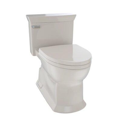 Soir�e Eco 1.28 GPF Elongated One-Piece Toilet Toilet Finish: Bone