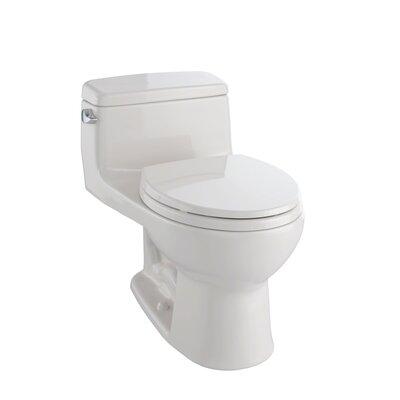 Supreme Eco 1.28 GPF Round One-Piece Toilet Toilet Finish: Sedona Beige