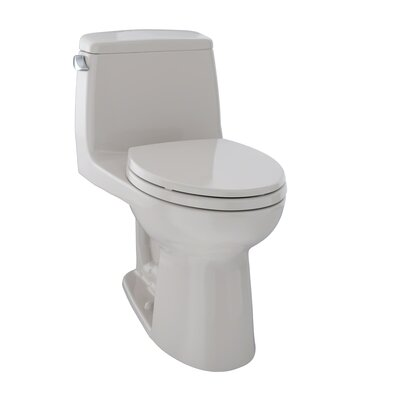 UltraMax� Eco 1.28 GPF Elongated One-Piece Toilet Toilet Finish: Sedona Beige, Trip Lever Orientation: Left-Hand