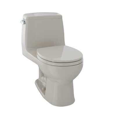 Ultimate Power Gravity Low Consumption 1.6 GPF Elongated One-Piece Toilet Toilet Finish: Bone