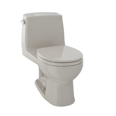 Ultramax G-Max Low Consumption 1.6 GPF Elongated One-Piece Toilet Toilet Finish: Bone