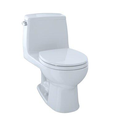 UltraMax Eco 1.28 GPF Round One-Piece Toilet Toilet Finish: Cotton