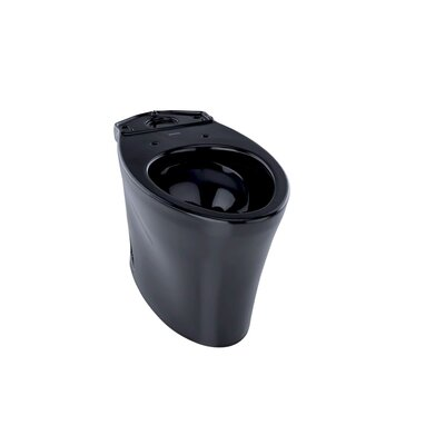Nexus Eco 1.28 GPF Elongated Toilet Bowl Bowl Finish: Ebony