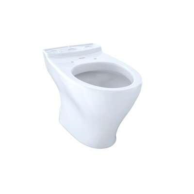 Aquia II 1.6 GPF Elongated Toilet Bowl Toilet Finish: Cotton