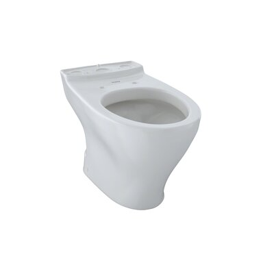 Aquia II 1.6 GPF Elongated Toilet Bowl Toilet Finish: Colonial White