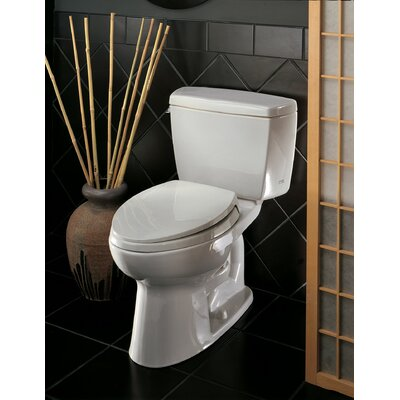 Drake 1.6 GPF Elongated Two-Piece Toilet Trip Lever Orientation: Right-Hand