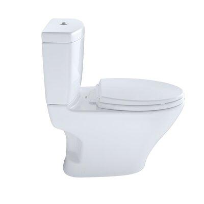 Aquia II Dual Flush Elongated One-Piece Toilet Toilet Finish: Cotton