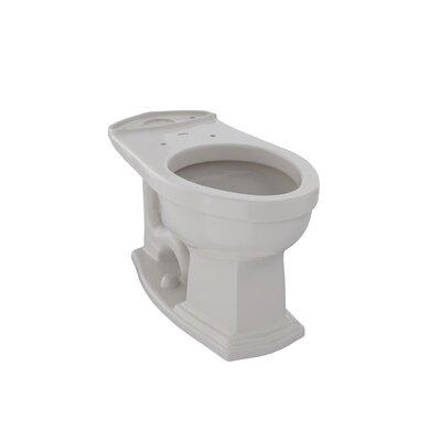 Clayton ADA Compliant 1.6 GPF Elongated Toilet Bowl Toilet Finish: Sedona Beige