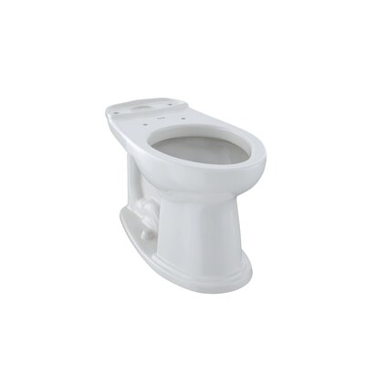 Dartmouth  ADA Compliant 1.28 GPF Elongated Toilet Bowl Toilet Finish: Colonial White