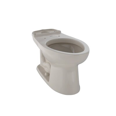 Drake Eco 1.28 GPF Elongated Toilet Bowl Toilet Finish: Bone