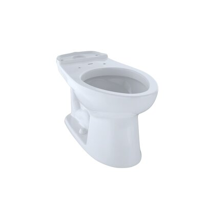 Drake� Eco Elongated Toilet Bowl Toilet Finish: Cotton