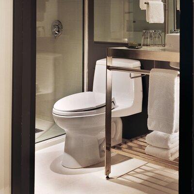Ultimate Power Gravity Low Consumption 1.6 GPF Elongated One-Piece Toilet Toilet Finish: Cotton