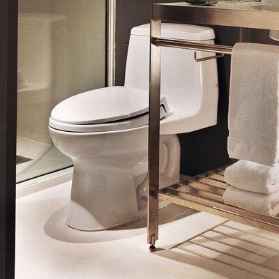 Ultimate Power Gravity Low Consumption 1.6 GPF Elongated One-Piece Toilet Toilet Finish: Sedona Beige