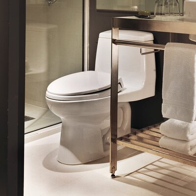 Ultramax G-Max Low Consumption 1.6 GPF Elongated One-Piece Toilet Toilet Finish: Sedona Beige