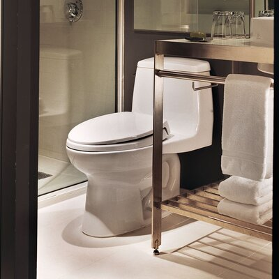 Ultramax G-Max Low Consumption 1.6 GPF Elongated One-Piece Toilet Toilet Finish: Colonial White