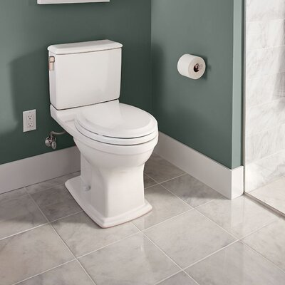 Connelly 1.28 GPF Elongated Two-Piece Toilet Finish: Sedona Beige
