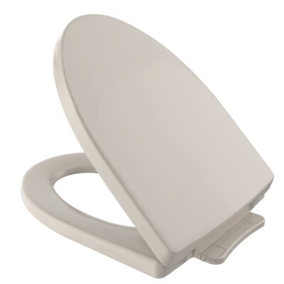 SoftClose� Elongated Toilet Seat Finish: Bone