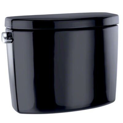 Gwyneth E-Max Toilet Tank Toilet Finish: Ebony, Lever Location: Left