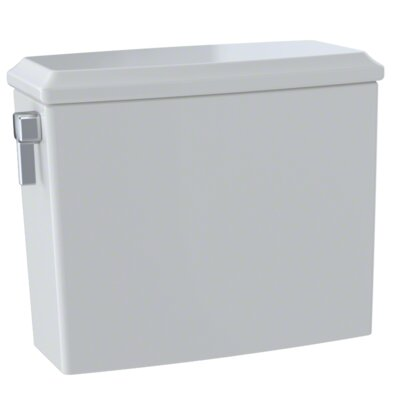 Connelly� Dual-Max� Dual Flush Toilet Tank Finish: Colonial White, Lever Location: Left