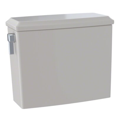 Connelly� Dual-Max� Dual Flush Toilet Tank Finish: Sedona Beige, Lever Location: Left