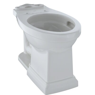 Promenade� II Dual Flush Elongated Toilet Bowl Finish: Colonial White